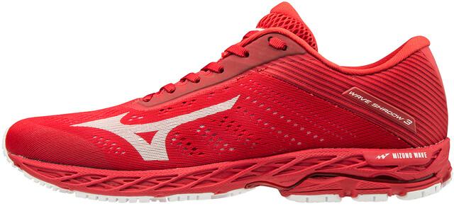 Mizuno Wave Shadow 3 Chaussures de running Homme, high risk redwhite